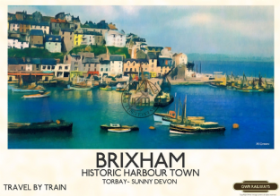 Brixham Harbour,